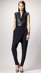 женские брюки глифе с топом