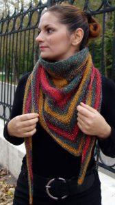 Бактус как теплый шарф