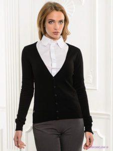 Кардиган как предмет классического женского гардероба