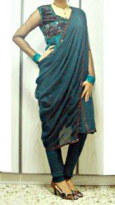 Как носить дупатту в стиле Индии