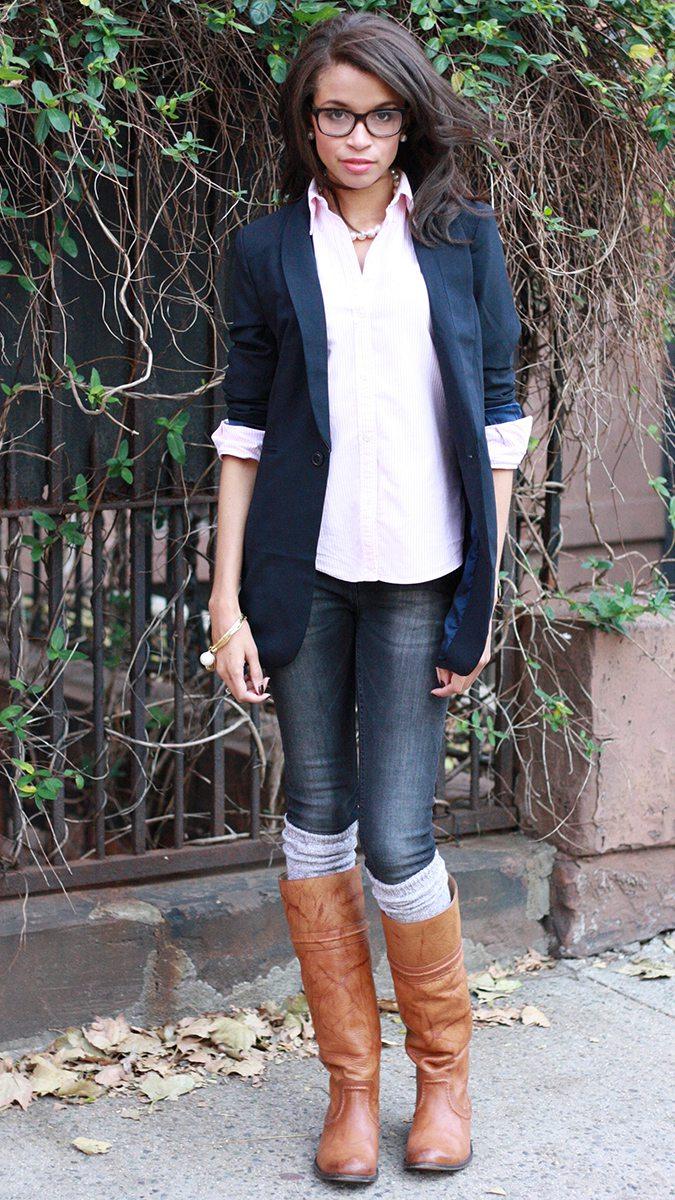 лайка была фото джинсы с сапогами ими красят