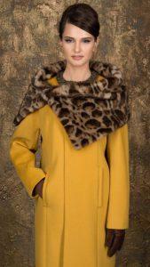 Горжетка с пальто