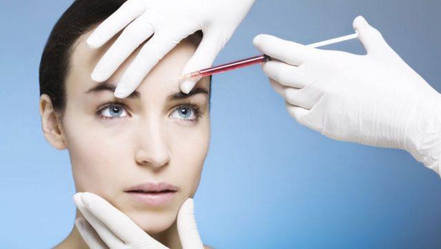 Процедура ботокса для лица