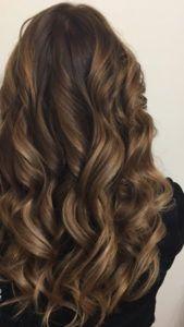 Наращивавние волос на трессах