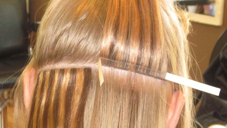 Наращивание волос в талдоме