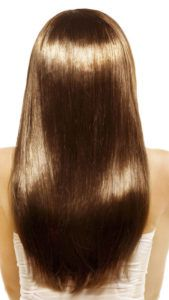 Ламинирование кудрявых волос