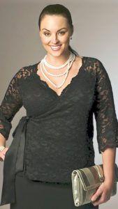 Блузоны для полных женщин - как носить