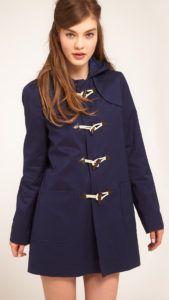 куртка дафлкот - советы по стилю