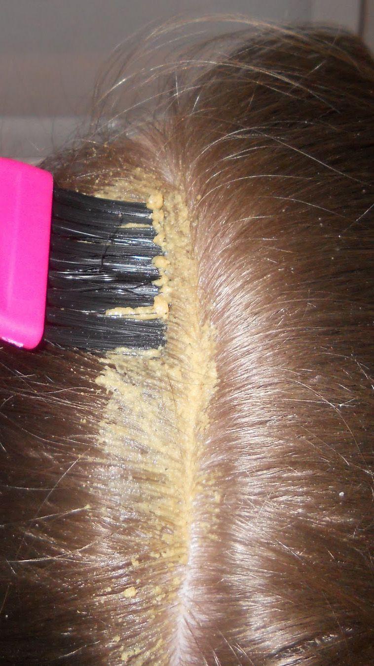 Маска против перхоти и выпадения волос в домашних условиях 894
