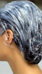 Маска против перхоти и выпадения волос