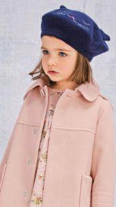 Выбираем драповое пальто для девочки
