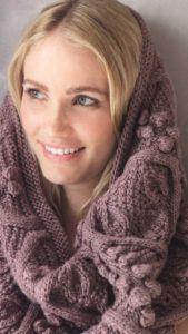 Как носить шарф воротник