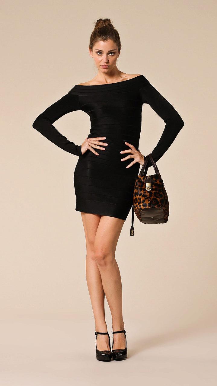 Маленькое черное платье: 60 фото и советы по ношению