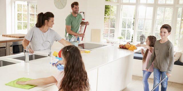 Учитесь делегировать домашние дела